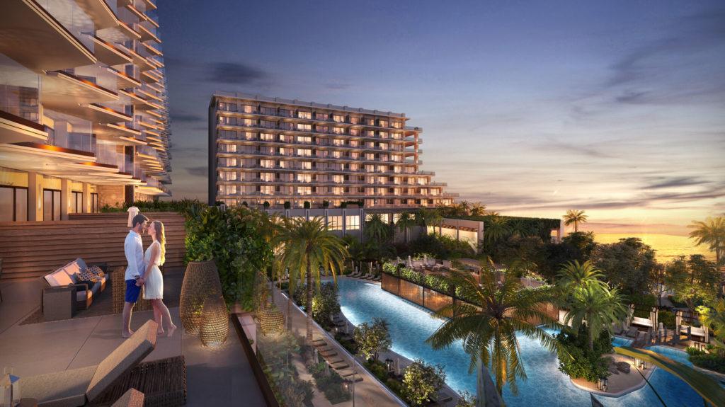 Balcony at Grand Hyatt Grand Cayman Residences