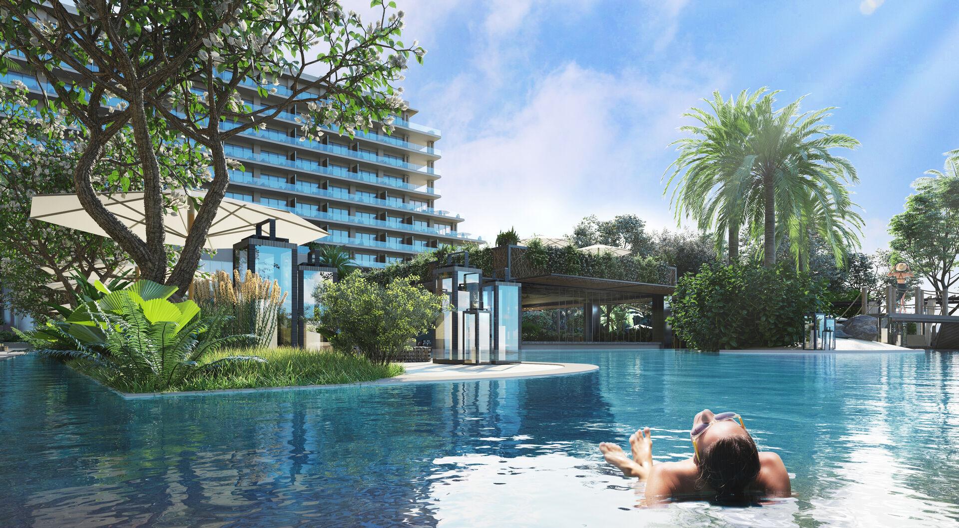 Grand Hyatt Residences pool
